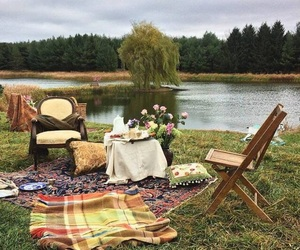 picnic, aesthetic, and nature image