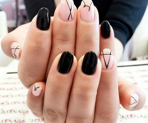 nails, manicure, and naildesign image