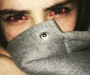 eyes, sad, and cry image