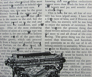 typewriter, text, and typography image