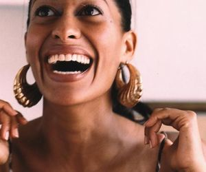 tracee ellis ross, smile, and woman image