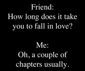 book, love, and funny image