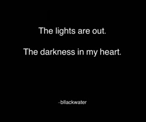 black, Darkness, and everything image