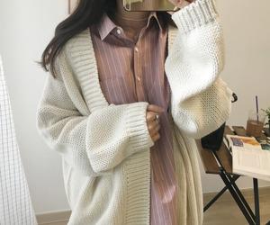 fashion, asian, and kfashion image