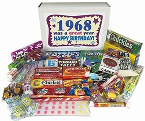 1968, candy, and birthday image