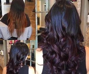 black, brown, and ombre image