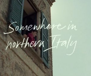 call me by your name, italy, and cmbyn image