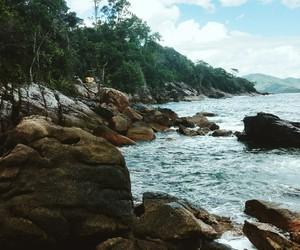beach, paisagem, and peace image