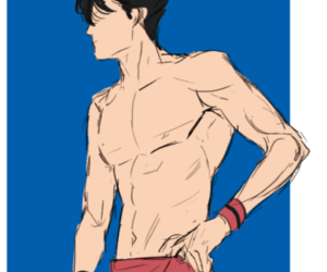 anime, volleyball, and kuroo image