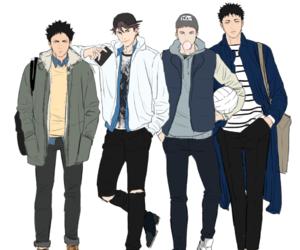 anime, haikyuu, and iwaizumi hajime image