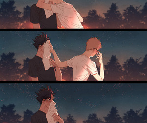 haikyuu, anime, and tsukishima image