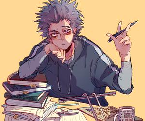 anime, bnha, and study image