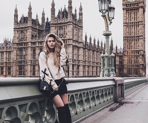 england, Big Ben, and girl image
