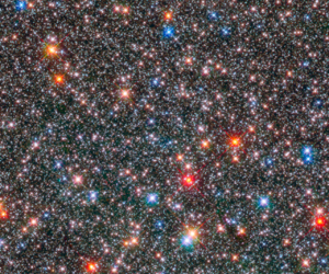 space, stars, and galaxy image