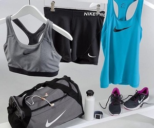 fitness and nike image