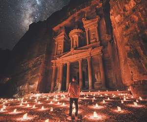 jordan, petra, and travel image