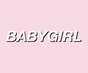 aesthetic, baby girl, and pink image