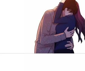 hug, manhwa, and quote image