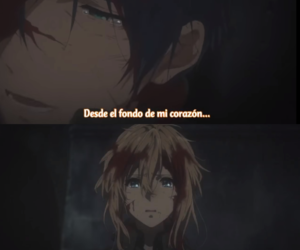 anime, frases, and auto memory dolls image