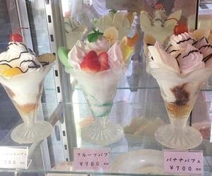 ice cream, aesthetic, and dessert image