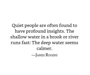 introvert, quiet, and quotes image
