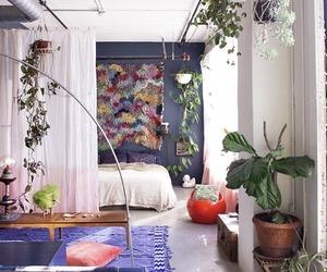boho, bedroom, and home image