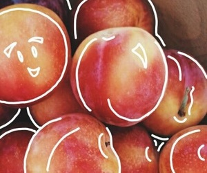 peach, fruit, and tumblr image