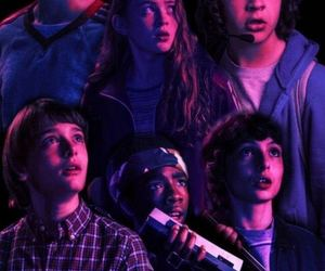 eleven, stranger things, and dustin image
