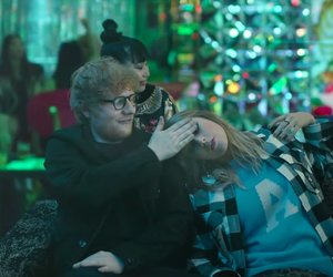 Taylor Swift, end game, and ed sheeran image