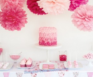 sweet, cake, and pink image