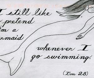 mermaid and postsecret image