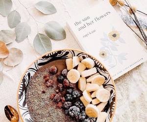 book, breakfast, and healthy image
