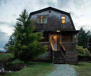 cottage, cozy, and house image