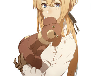 violet evergarden, anime, and anime girl image