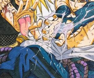naruto, sasuke, and deidara image