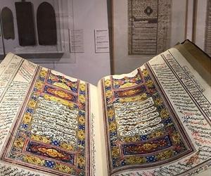 arabic, art, and quran image