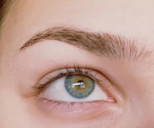 eyebrows, green eyes, and natural image