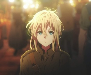 anime, icon, and violet evergarden image