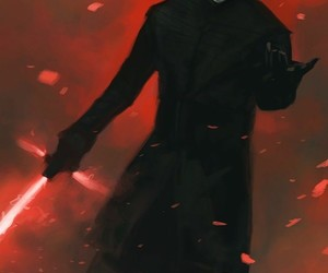 star wars, kylo ren, and the last jedi image