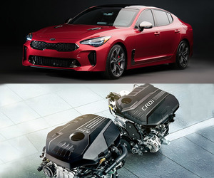 hatchback, kia, and kia stinger image