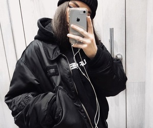 black, clothes, and dope image