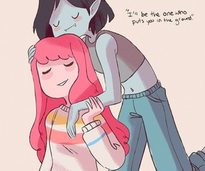 marceline, adventure time, and bubbline image