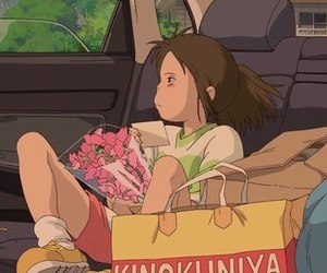 gif, spirited away, and anime image