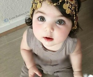 baby cute, lucu, and girls image