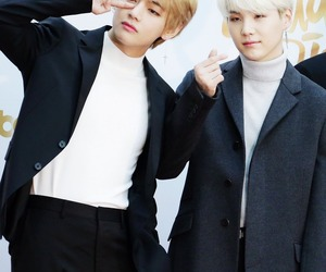 bts, suga, and daegu boys image