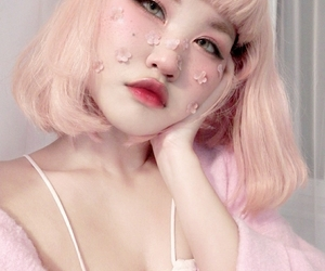 pink, girl, and icon image