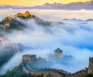 beaty, china, and foggy image