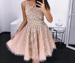 dress, prom dress, and homecoming dress image