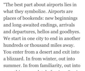 quotes, travel, and airport image