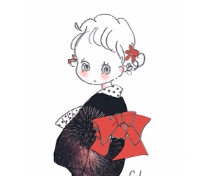 fashion, illustration, and おんなのこ image